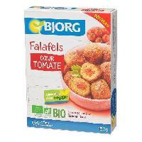 Plat De Legumes - Feculents Falafels coeur tomate - 150 g