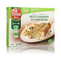 Plat De Legumes - Feculents Galettes millet et boulghour aux champignons 200 g