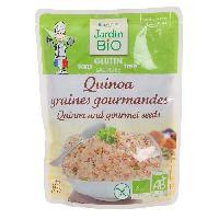 Plat De Legumes - Feculents JARDIN BIO Quinoa graines gourmandes bio - sans gluten - 220g