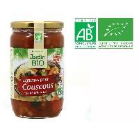 Plat De Legumes - Feculents Legumes coucous bio - 660g