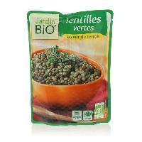 Plat De Legumes - Feculents Lentilles vertes bio - 250g