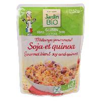 Plat De Legumes - Feculents Melange de soja quinoa sans gluten - 250g