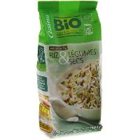 Plat De Legumes - Feculents Melange riz et legumes secs - Bio - 500g
