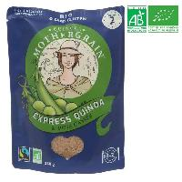 Plat De Legumes - Feculents QUINOA MOTHERGRAIN Express quinoa et pois casse bio - 250 g