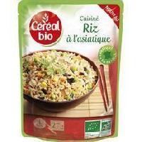 Plat De Legumes - Feculents Riz a l'asiatique - 220 g