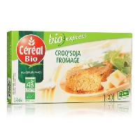 Plats Prepares Croq'Soja a base de tofu et de fromage Bio - 200 g
