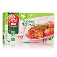 Plats Prepares Croq'soja Provencale specialite vegetale a base de tofu Bio - 200 g
