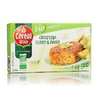 Plats Prepares Croq' soja curry pavot bio200g