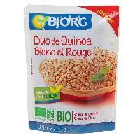 Plats Prepares Duo de quinoa blond et rouge - 220 g