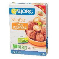 Plats Prepares Falafels coeur houmous - 150 g