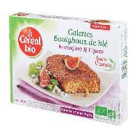 Plats Prepares Galettes a base de cereales et de fromage Bio - 150 g