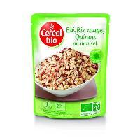 Plats Prepares Sachet Trio de cereales - Doy ble rouge et quinoa - 220 g