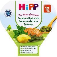 Plats Prepares Soir Assiette Epinard P. de terre Saumon - 12 mois