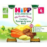 Plats Prepares Soir Carboeuf 6m hippbio 2x190g