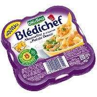Plats Prepares Soir Mousseline de legumes et patate douce Bledichef - 250 g