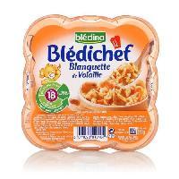 Plats Prepares Viande Bledichef assiette blanquette de volaille 260g