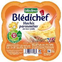 Plats Prepares Viande Hachi Parmentier Bledichef - Des 12 mois - 230 g