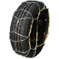 Pneus Chaines neige 9mm pour pneu 13-14-15-16POUCES - SYNCHRO 60 Generique