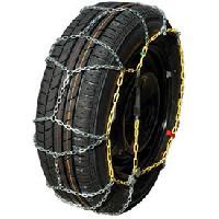 Pneus Chaines neige 9mm pour pneu 13-14POUCES - SYNCHRO 40 - ADNAuto