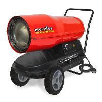 Poele A Petrole Chauffage de chantier Canon a air chaud Diesel Fioul avec turbine incorporee 30000 W MH30000D