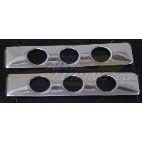 Poignees exterieures 2 couvre-poignees de portes adaptables