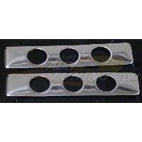 Poignees exterieures 2 couvre-poignees de portes adaptables - ADNAuto