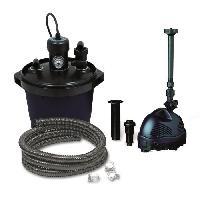 Pompe - Groupe Filtrant - Bloc De Filtration Kit Filtre Biopressure 5000L avec set