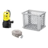 Pompe Arrosage - Pompe D'evacuation - Arrosage Integre Kit anti-inondation avec une pompe SP 5 Dirt. un tuyau d'evacuation et une caisse de rangement