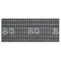 Ponceuse - Polisseuse grille de poncage - 93x230 mm - Grain 80
