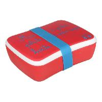 Popote - Vaisselle - Couverts CAMPING Lunch box Bambino - 0.75 L - Rouge