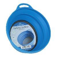 Popote - Vaisselle - Couverts Cuisine rando silicon ellipse bowl - blue