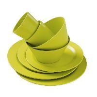 Popote - Vaisselle - Couverts Set Vaisselle Bambou