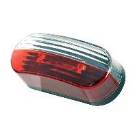 Portage - Remorquage Feu de Gabarit LED OVALE ROUGEBLANC 12V