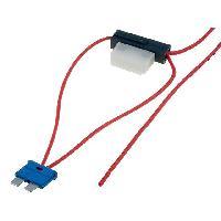 Porte-Fusibles pour auto Porte-Fusible Mini 8A 0.75mm2 bleu ADNAuto