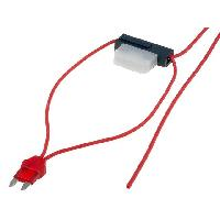 Porte-Fusibles pour auto Porte-Fusible Mini 8A 0.75mm2 rouge
