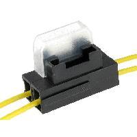 Porte-Fusibles pour auto Porte-fusible 19mm 0.75mm2 5A jaune