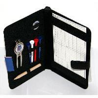 Porte-cartes - Pochette Accessoires et Porte-carte de Score en Cuir Veritable