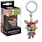 Porte-cle Funko Pocket Pop! Five Nights At Freddy's- Pizza Simulator- Rockstar Foxy
