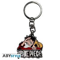 Porte-cles - Etui A Cle Porte-cles One Piece - Luffy New World X4 - ABYstyle