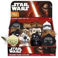 Porte-cles - Etui A Cle STAR WARS - Mini plush Porte-cles Sonore 17cm en display Wave 2