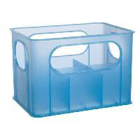 Porte-gobelet - Porte-biberon DBB REMOND Porte - biberons pour 6 biberons - Bleu translucide