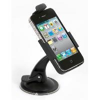 Porte-objets - Porte-lunettes Support IPhone 4 orientable - Auto-t