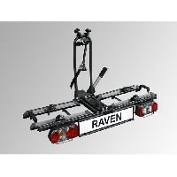 Porte-velo - Accessoires Porte-velos attelage pliable 2 velos Eufab Raven