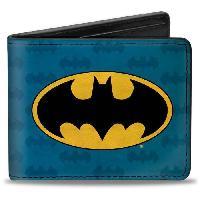 Portefeuille Porte-Feuille DC Comics- Logo Batman