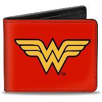 Portefeuille Porte-Feuille DC Comics- Logo Wonder Woman