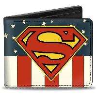 Portefeuille Porte-Feuille DC Comics- Superman Vintage