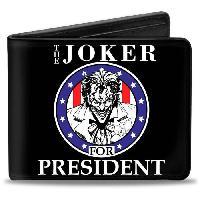 Portefeuille Porte-Feuille DC Comics- The Joker For President