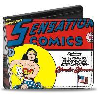 Portefeuille Porte-Feuille DC Comics- Wonder Woman Comics