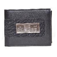Portefeuille Portefeuille pliable Nintendo- Manette NES en metal