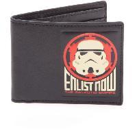 Portefeuille Portefeuille pliable Star Wars- Recrutement Empire Galactique